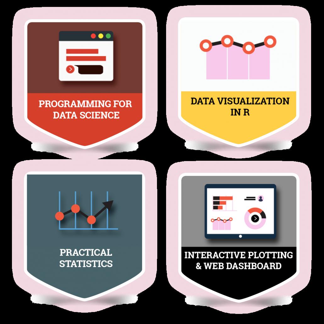 Data Visualization Specialization Badges